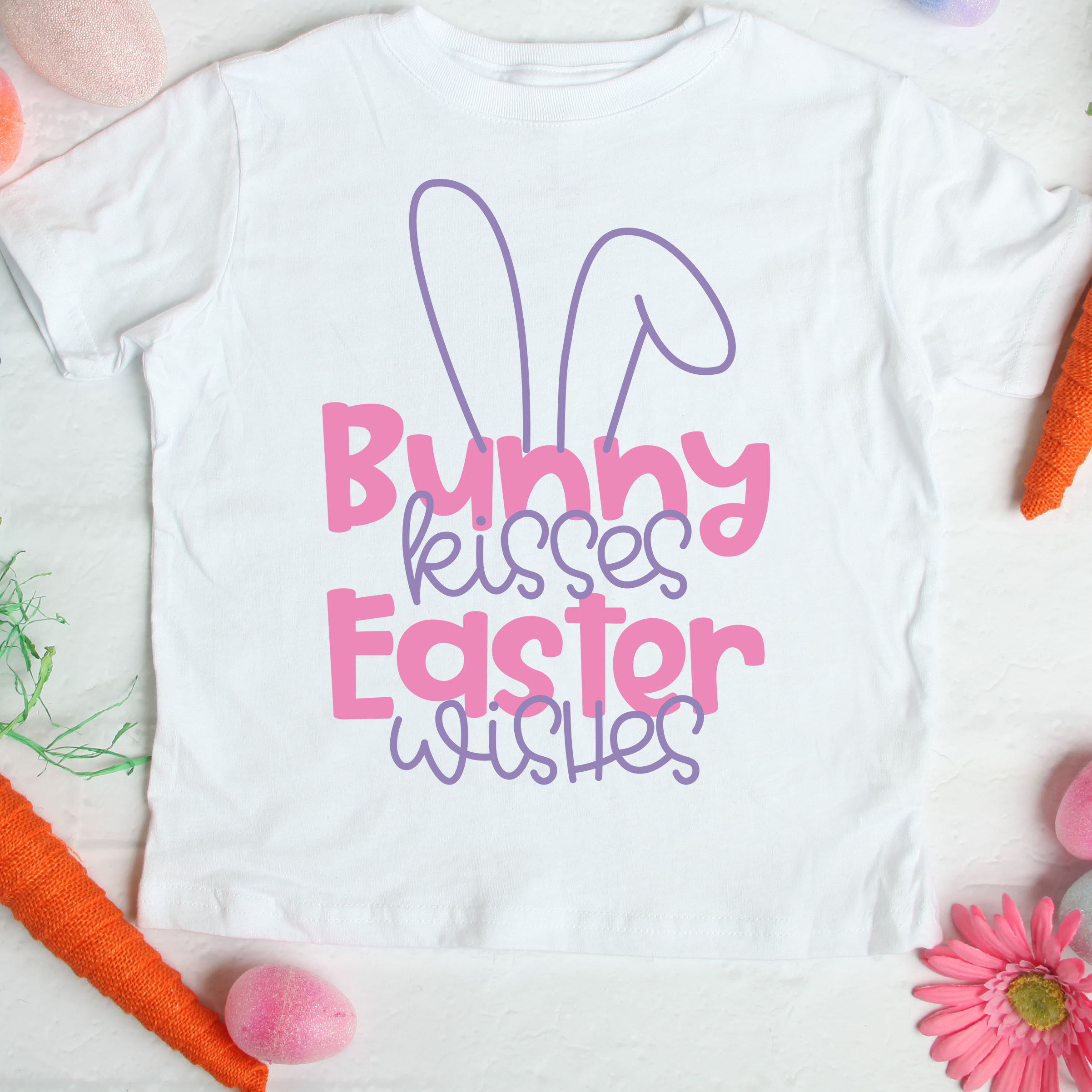 Bunny Kisses Easter Wishes Special Heart Studio Cut Files Crafts And Fun