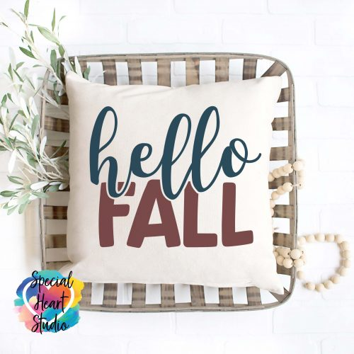 hello fall svg
