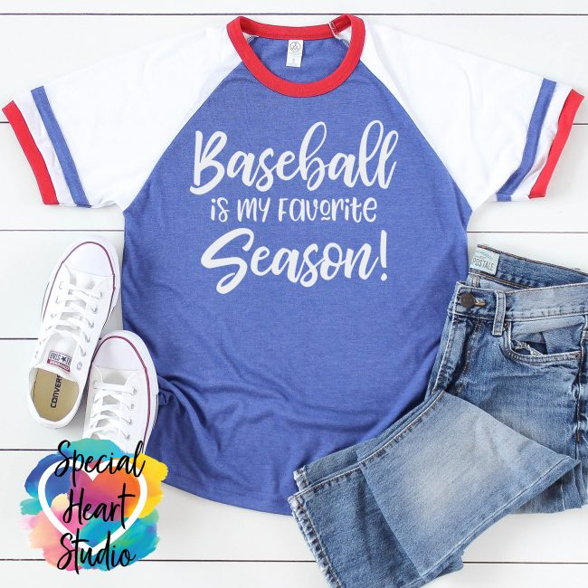 Baseball Favorite Season Mockup Shirt
