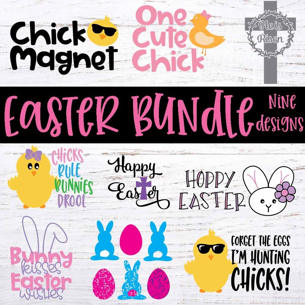 Easter Bundle Svg Cut File Special Heart Studio