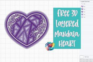 Download Free Layered Alpha Mandala Svg Set Special Heart Studio