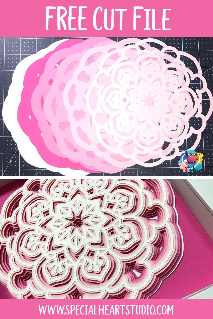 Download Free Layered Mandala Svg Special Heart Studio Cut Files Crafts And Fun