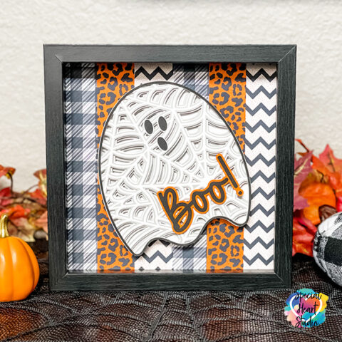 How To Assemble A Layered Ghost Shadowbox