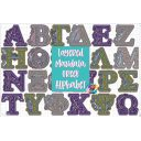 LAYERED GREEK ALPHABET MANDALA - FREE CUT FILES