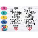 YOUR WINGS WERE READY - FREE CUT FILES